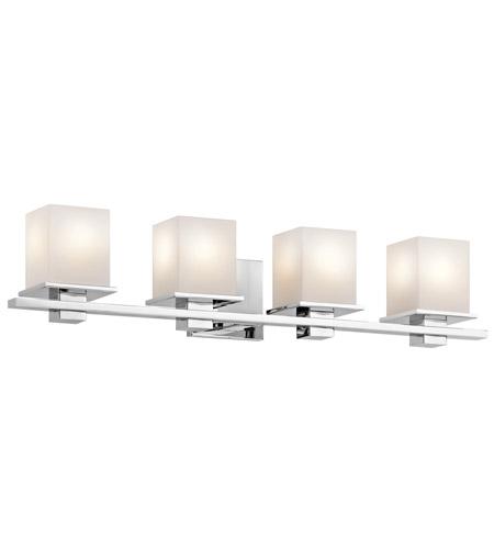 Kichler CH Tully Light Inch Chrome Bath Bracket Wall Light - Kichler chrome bathroom lighting