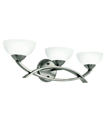 Kichler Lighting Bellamy 3 Light Bath Vanity in Antique Pewter 45163AP
