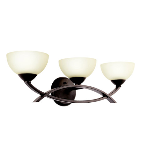 Kichler Lighting Bellamy 3 Light Bath Vanity in Olde Bronze 45163OZ