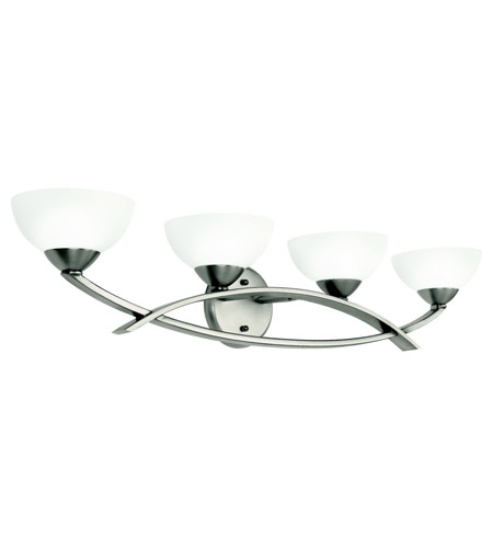 Kichler Lighting Bellamy 4 Light Bath Vanity in Antique Pewter 45164AP
