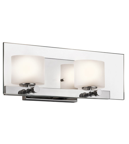 Kichler 45171CH Como 2 Light 16 inch Chrome Bath Wall Wall Light photo