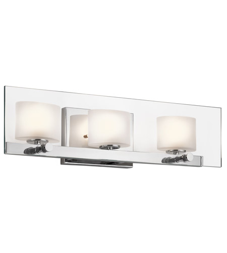 Kichler Lighting Como 3 Light Bath Wall in Chrome 45172CH