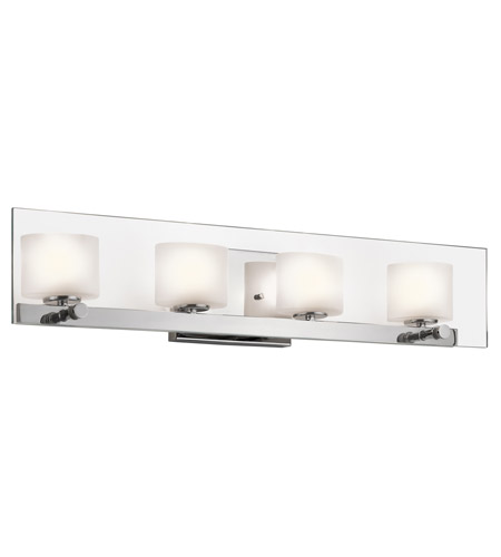 Kichler Lighting Como 4 Light Bath Wall in Chrome 45173CH photo