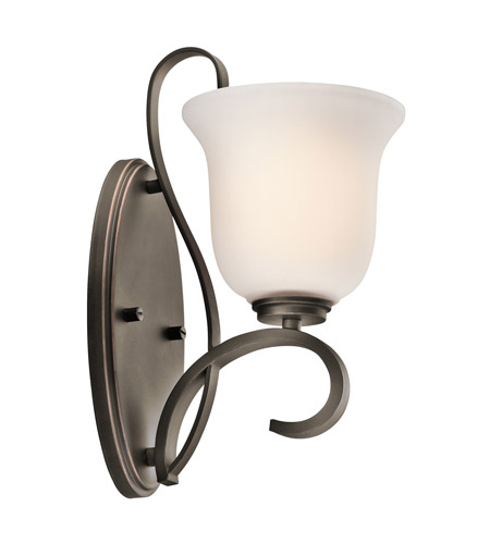 Kichler Lighting Sherbrooke 1 Light Wall Sconce in Olde Bronze 45174OZ photo