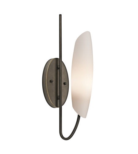 Kichler Lighting Stella 1 Light Wall Sconce in Olde Bronze 45212OZ photo