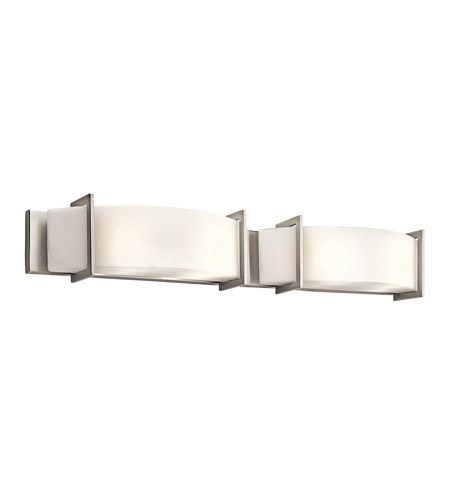 Kichler Lighting Crescent View 4 Light Bath Vanity in Brushed Nickel 45221NI photo