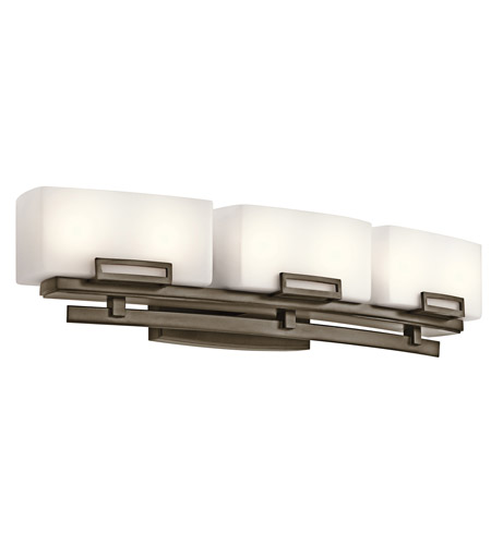 Kichler Lighting Leeds 6 Light Bath Vanity in Shadow Bronze 45226SWZ photo