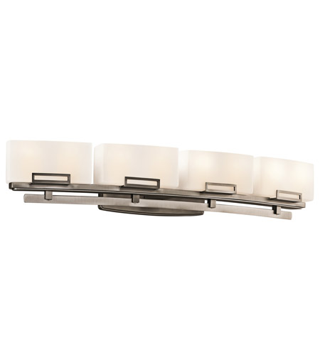 Kichler Lighting Leeds 8 Light Bath Vanity in Antique Pewter 45227AP