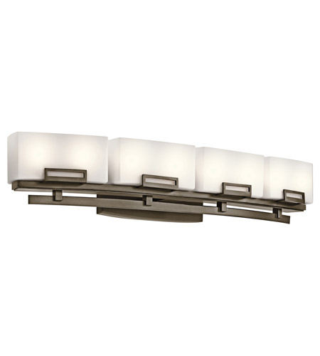 Kichler Lighting Leeds 8 Light Bath Vanity in Shadow Bronze 45227SWZ