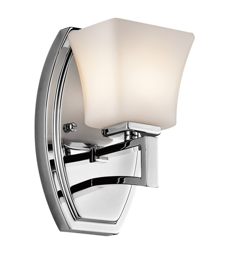 Kichler Lighting Luciani 1 Light Wall Sconce in Chrome 45238CH