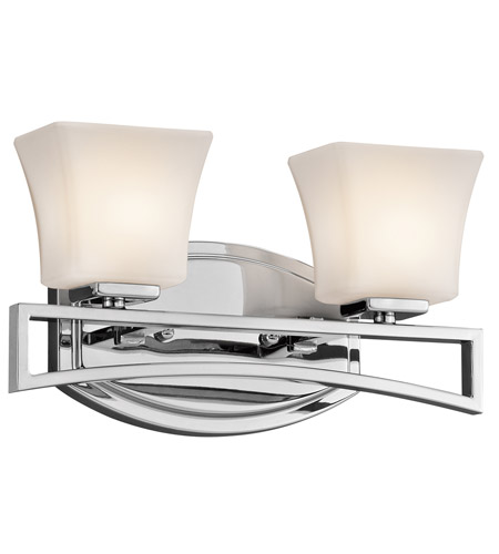 Kichler Lighting Luciani 2 Light Bath Vanity in Chrome 45239CH photo