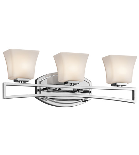 Kichler Lighting Luciani 3 Light Bath Vanity in Chrome 45240CH photo