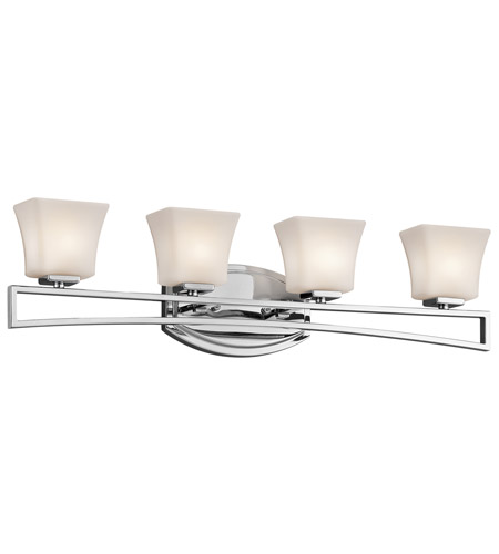Kichler Lighting Luciani 4 Light Bath Vanity in Chrome 45241CH photo