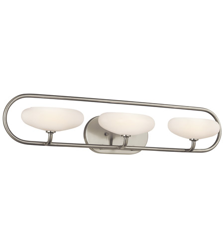 Kichler Lighting Pending Family Assignment Bath 3Lt in Brushed Nickel 45248NI photo