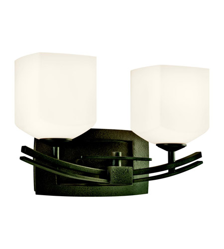 Kichler Lighting Brinbourne 2 Light Bath Vanity in Anvil Iron 45262AVI