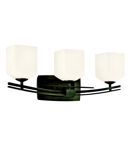 Kichler Lighting Brinbourne 3 Light Bath Vanity in Anvil Iron 45263AVI photo