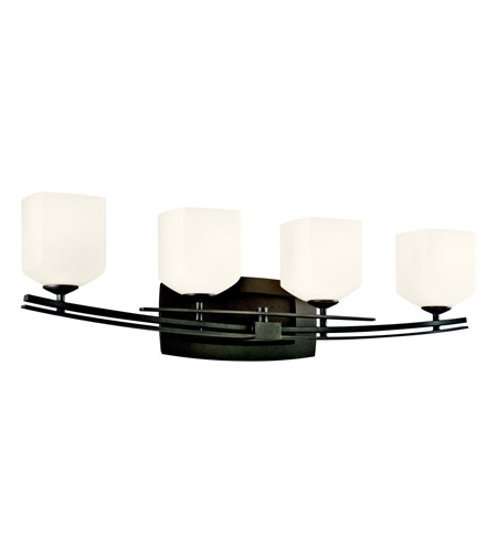 Kichler Lighting Brinbourne 4 Light Bath Vanity in Anvil Iron 45264AVI photo