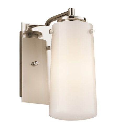 Kichler Lighting Knox 1 Light Wall Sconce in Polished Nickel 45265PN photo