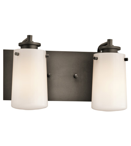 Kichler Lighting Knox 2 Light Bath Vanity in Olde Bronze 45266OZ photo