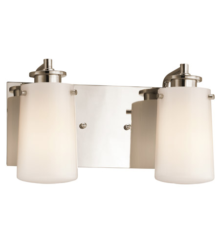 Kichler Lighting Knox 2 Light Bath Vanity in Polished Nickel 45266PN photo
