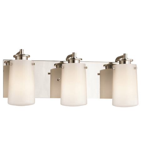 Kichler Lighting Knox Bath Vanity in Polished Nickel 45267PN