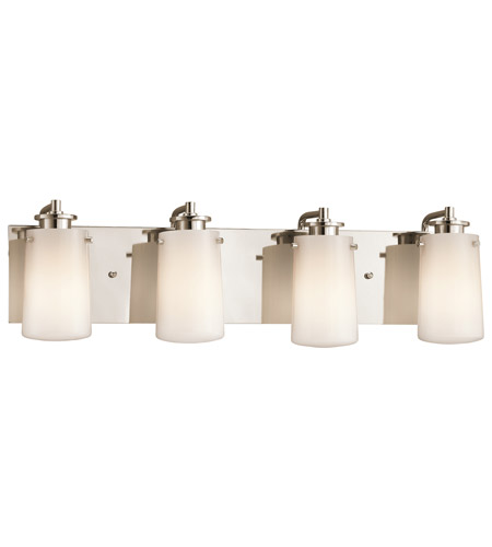 Kichler Lighting Knox 4 Light Bath Vanity in Polished Nickel 45268PN photo