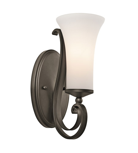 Kichler Lighting Wickham 1 Light Wall Sconce in Olde Bronze 45300OZ photo