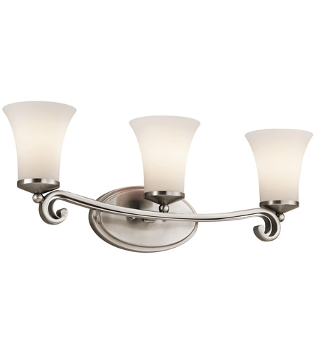 Kichler Lighting Wickham 3 Light Bath Vanity in Classic Pewter 45302CLP photo
