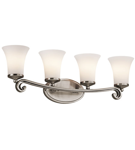 Kichler Lighting Wickham 4 Light Bath Vanity in Classic Pewter 45303CLP photo