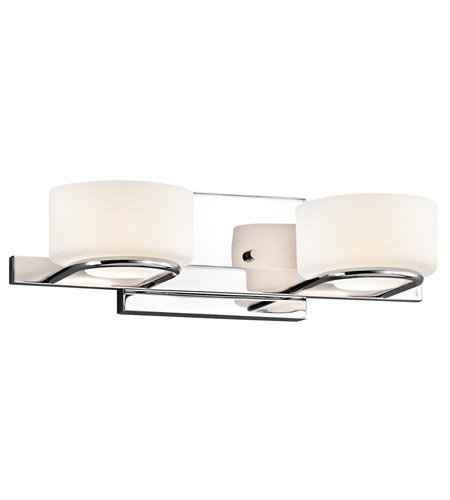 Kichler Lighting Cirino 2 Light Bath Vanity in Chrome 45312CH