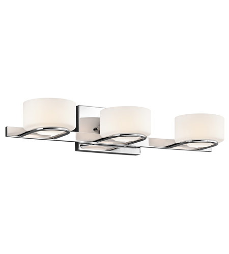 Kichler Lighting Cirino 3 Light Bath Vanity in Chrome 45313CH