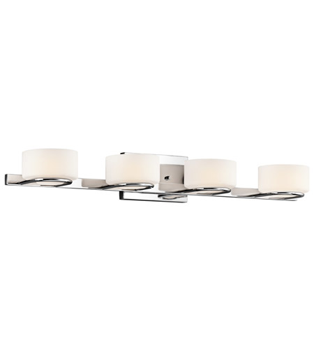 Kichler Lighting Cirino 4 Light Bath Vanity in Chrome 45314CH