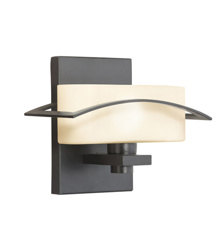 Kichler Lighting Suspension 1 Light Wall Sconce in Black (Painted) 45315BK