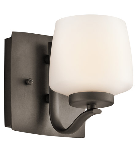 Kichler Lighting Truett 1 Light Wall Sconce in Olde Bronze 45328OZ