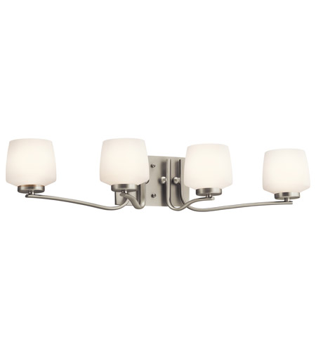 Kichler Lighting Truett Bath Vanity in Brushed Nickel 45331NI