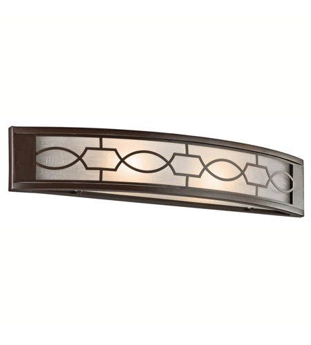 Kichler Lighting Punctuation 2 Light Bath Vanity in Mission Bronze 45351MIZ