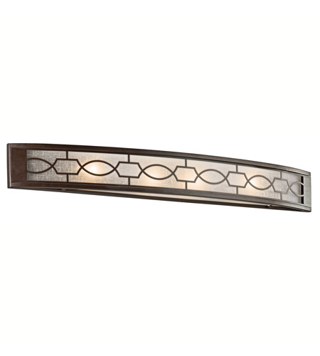 Kichler Lighting Punctuation 4 Light Bath Vanity in Mission Bronze 45353MIZ