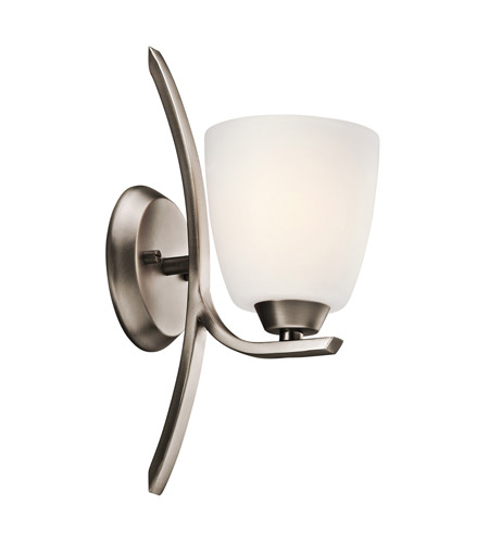 Kichler 45358BPT Granby 1 Light 5 inch Brushed Pewter Wall Sconce Wall Light photo