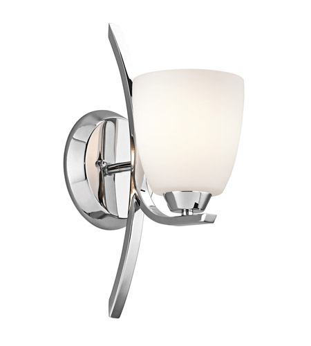 Kichler Lighting Granby 1 Light Bath Vanity in Chrome 45358CH