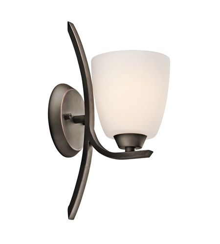 Kichler Lighting Granby 1 Light Wall Sconce in Olde Bronze 45358OZ photo