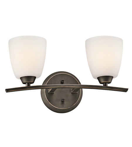 Kichler 45359OZ Granby 2 Light 17 inch Olde Bronze Bath Vanity Wall Light photo