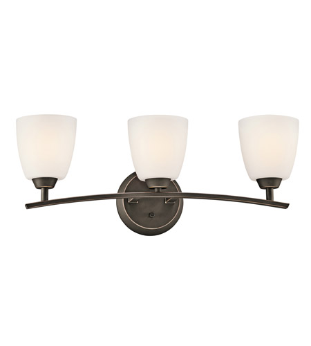 Kichler 45360OZ Granby 3 Light 25 inch Olde Bronze Bath Vanity Wall Light photo