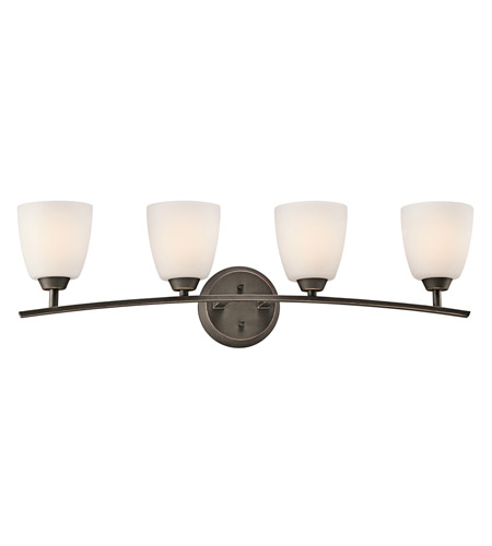 Kichler Lighting Granby 4 Light Bath Vanity in Olde Bronze 45361OZ photo