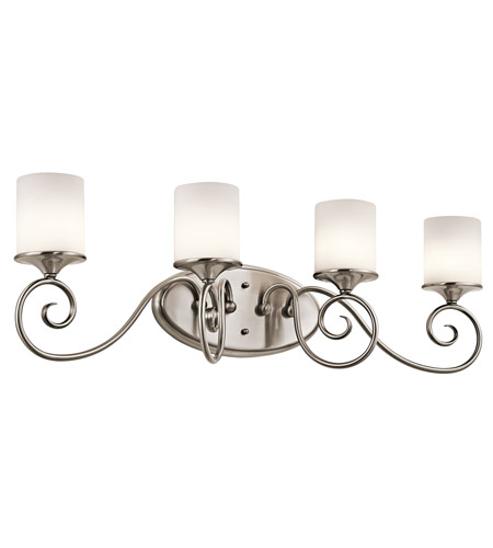 Kichler Lighting Lara 4 Light Bath Vanity in Classic Pewter 45365CLP photo