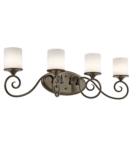 Kichler Lighting Lara 4 Light Bath Vanity in Shadow Bronze 45365SWZ photo