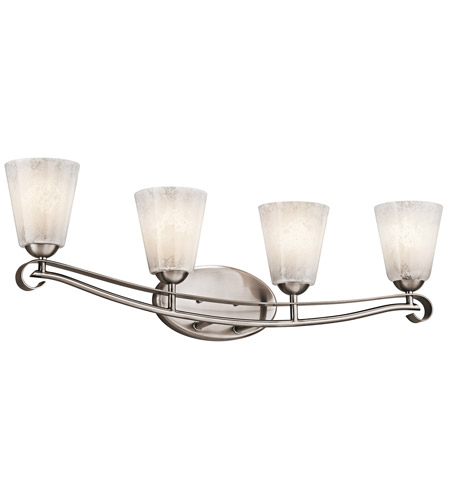 Kichler Lighting Mara 4 Light Bath Vanity in Classic Pewter 45369CLP photo