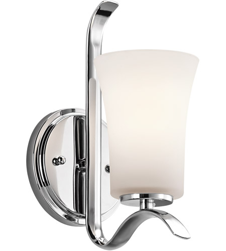 Kichler 45374CH Armida 1 Light 5 inch Chrome Wall Sconce Wall Light in Standard photo