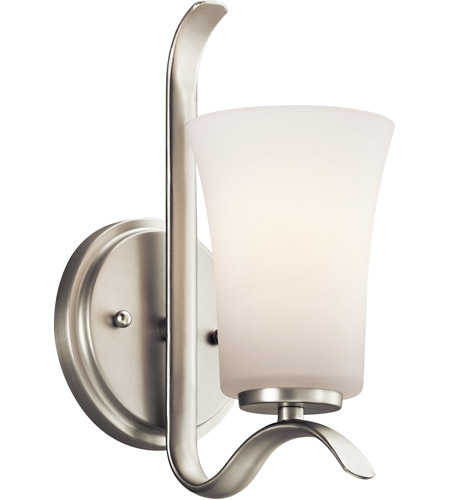 Kichler 45374NI Armida 1 Light 5 inch Brushed Nickel Wall Sconce Wall Light in Standard photo