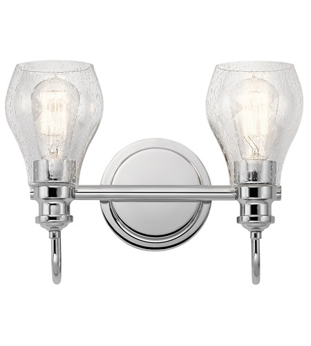 Kichler 45391ch greenbrier 2 light 14 inch chrome vanity light kichler 45391ch greenbrier 2 light 14 inch chrome vanity light wall light photo mozeypictures Gallery