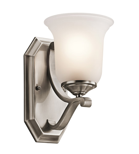 Kichler Lighting Wellington Square 1 Light Wall Sconce in Classic Pewter 45401CLP photo